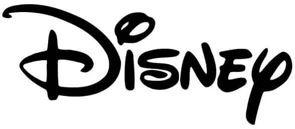 לוגו טקסט של חברת דיסני