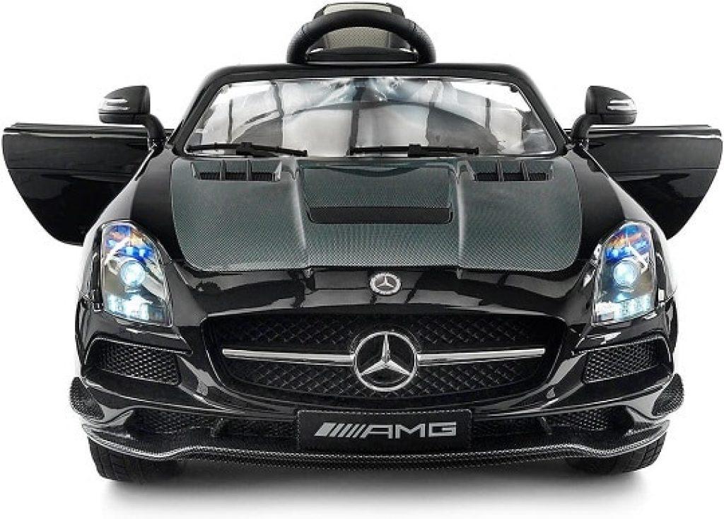 מכונית חשמלית לילדים של חברת Mercedes דגם SLS AMG
