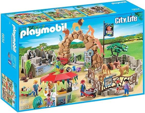 ערכת משחק גן חיות עירוני גדול