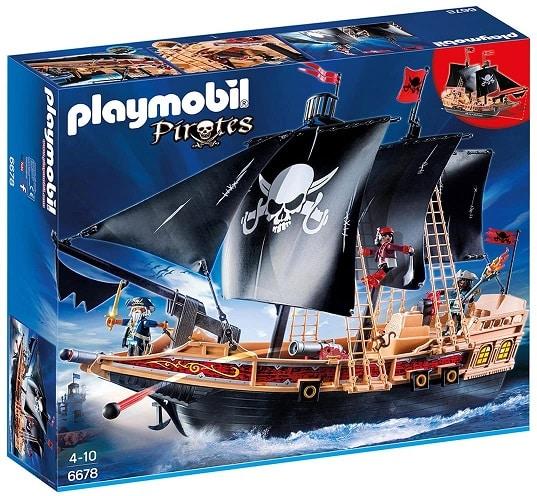 ערכת משחק ספינת קרב פיראטית של Playmobil