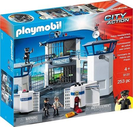 ערכת משחק תחנת משטרה עם בית סוהר