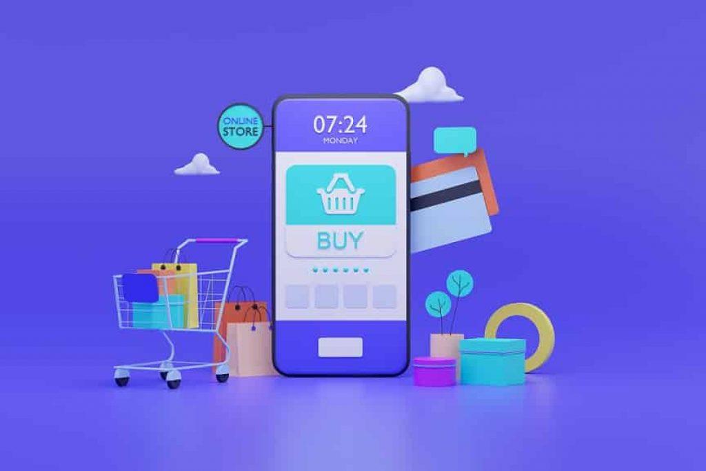 אפליקציה לקניית בגדים