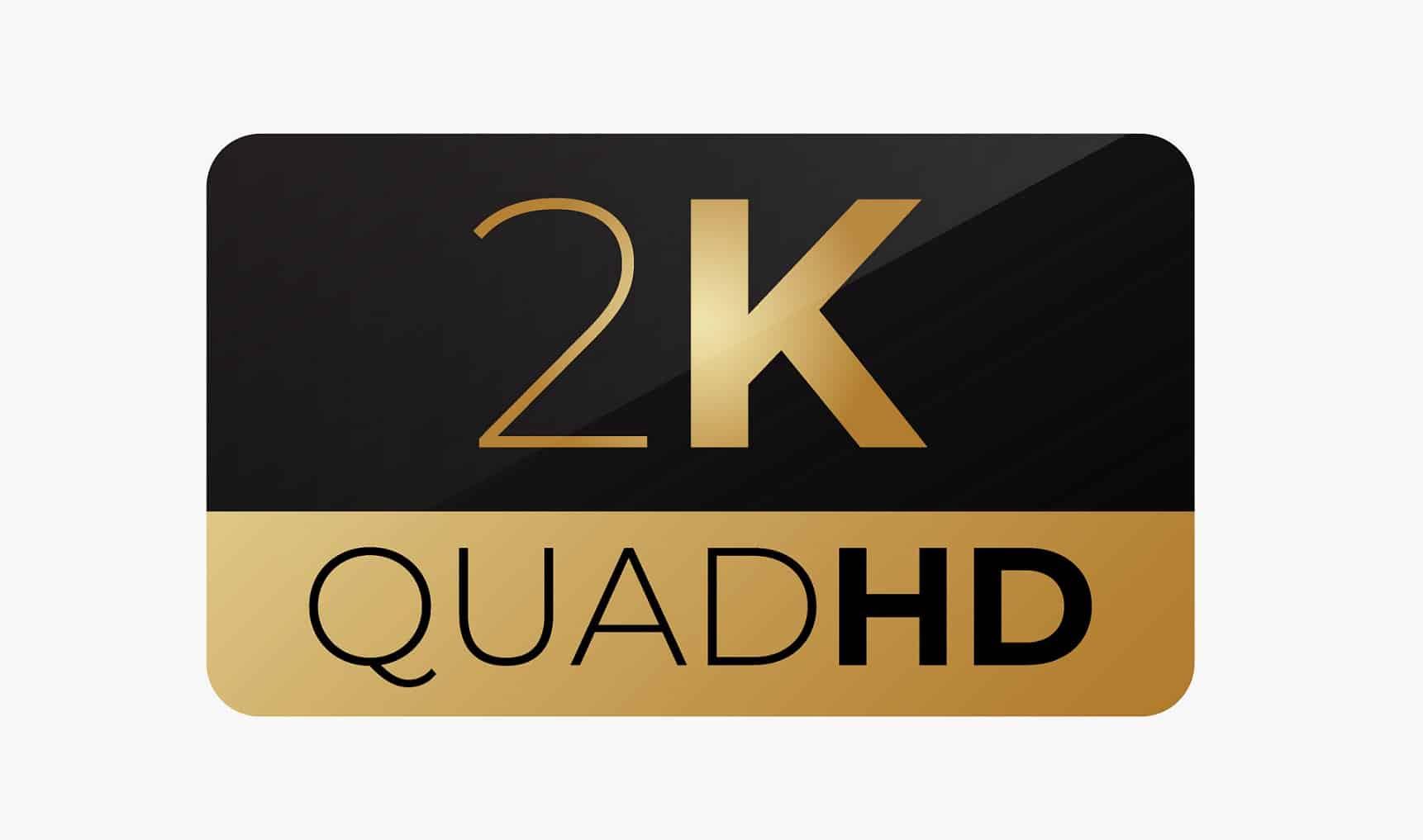 רזולוציה 2K של QUAD HD