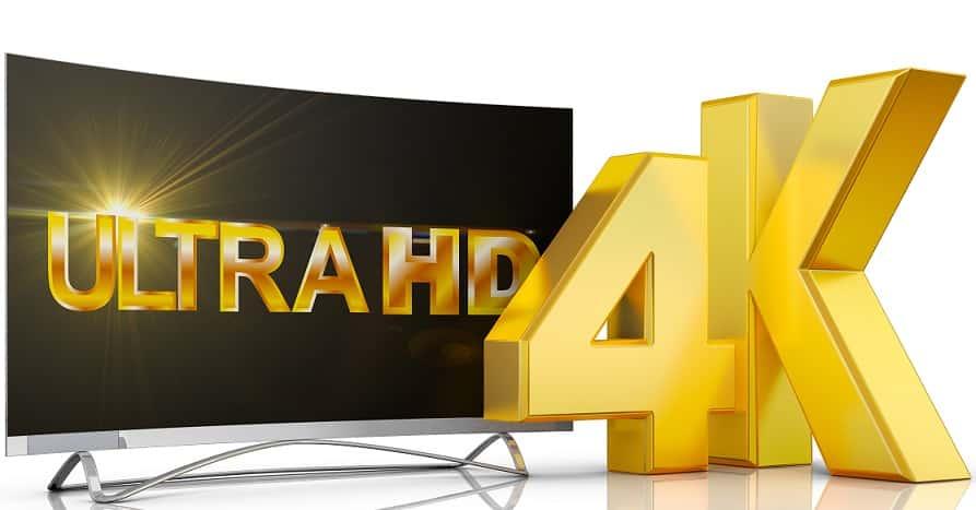 רזולוציה 4K של ULTRA HD