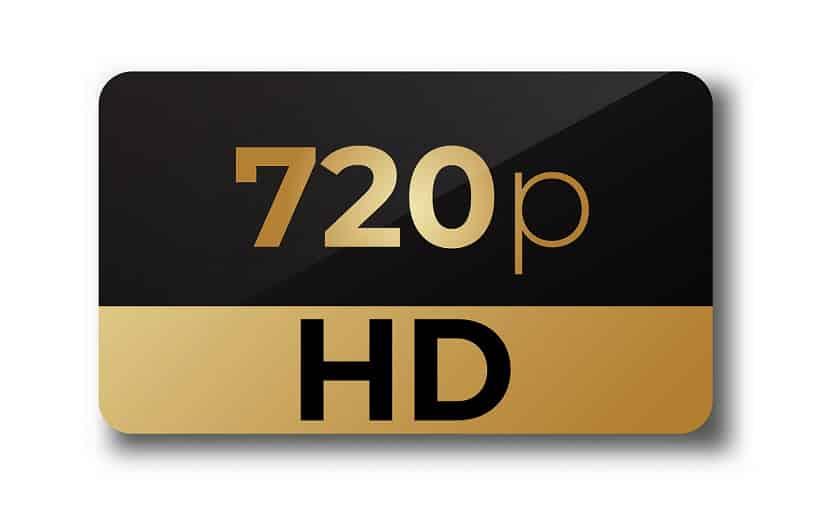 רזולוציית 720p של HD