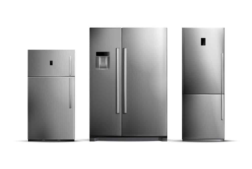 3 סוגי המקררים הנפוצים ביותר בשוק