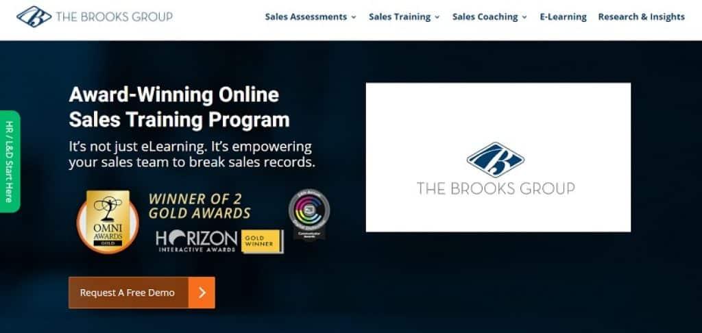אימון מכירות מקצועי אונליין של חברת The Brooks Group