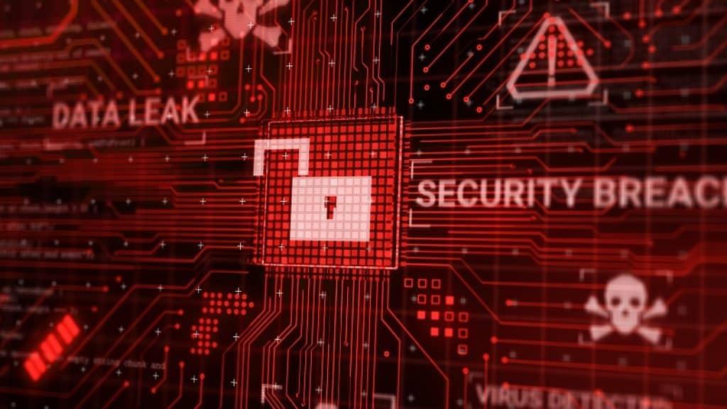 התראה על פריצה של מערכת האבטחה ודליפת מידע