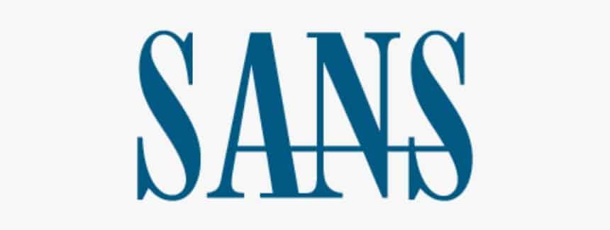 לוגו SANS