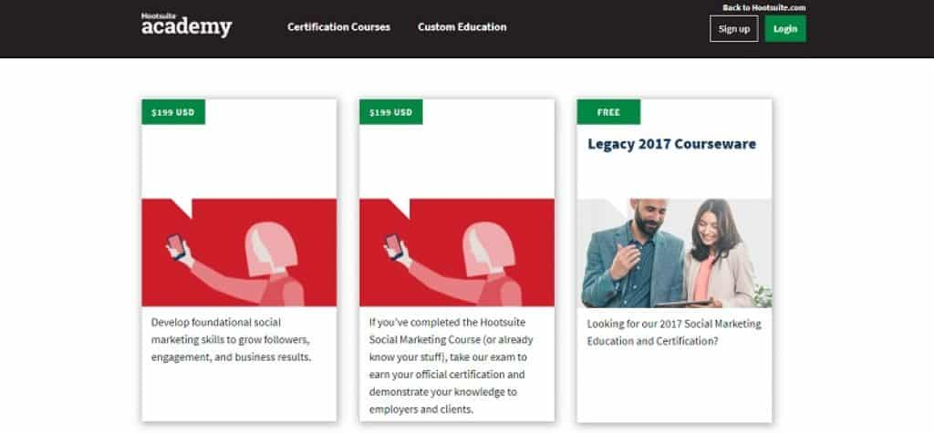 קורס הכשרה בשיווק דיגיטלי ברשתות החברתיות של Hootsuite
