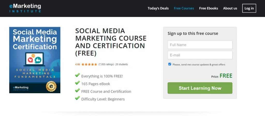 קורס שיווק ברשתות החברתיות ב-eMarkering Institute