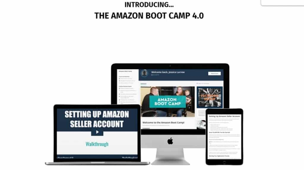 קורס Amazon Boot Camp עם The Selling Family